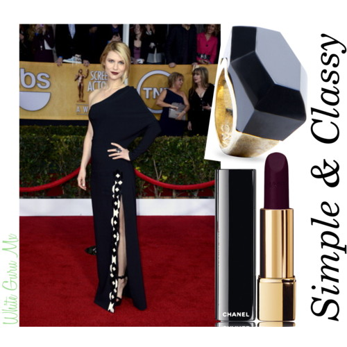 Claire Danes Accessories SAG Awards