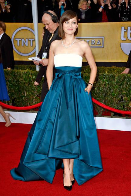 SAG Awards Marion Cotillard Christian Dior