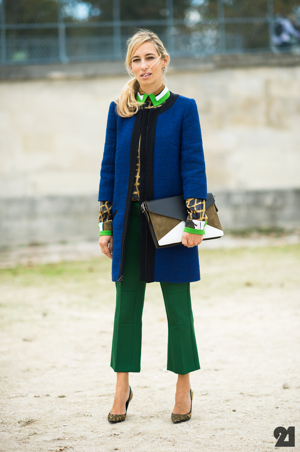 Alexandra Golovanoff Fashion Week Street Style