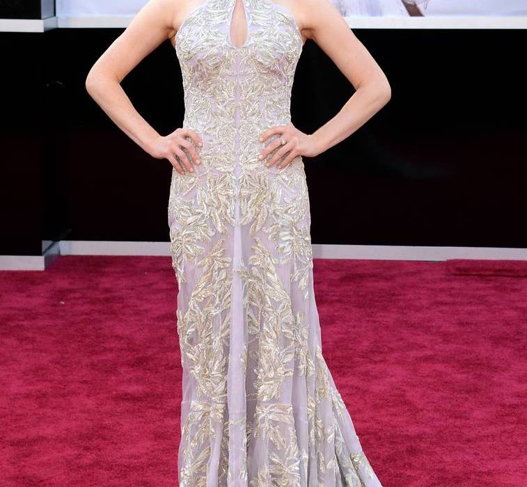 Amanda Seyfried wearing Alexandre McQueen dress Oscars Academy Awards 2013