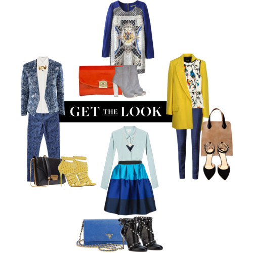How to wear blue fashion trends spring summer
