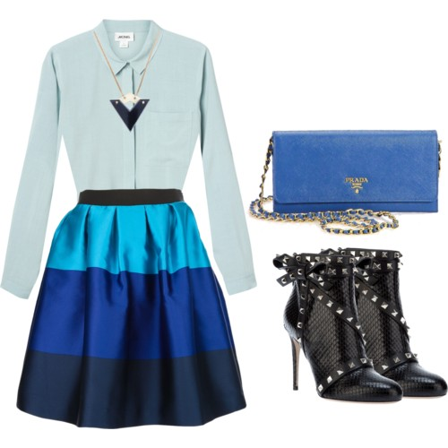 Fashion Trends Spring Summer 2013 - Blue color