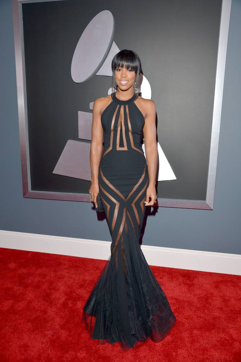 Kelly Rowland attends the 55th Annual GRAMMY Awards
