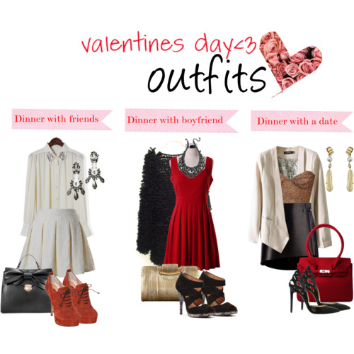 What to wear for Valentines day - outfits