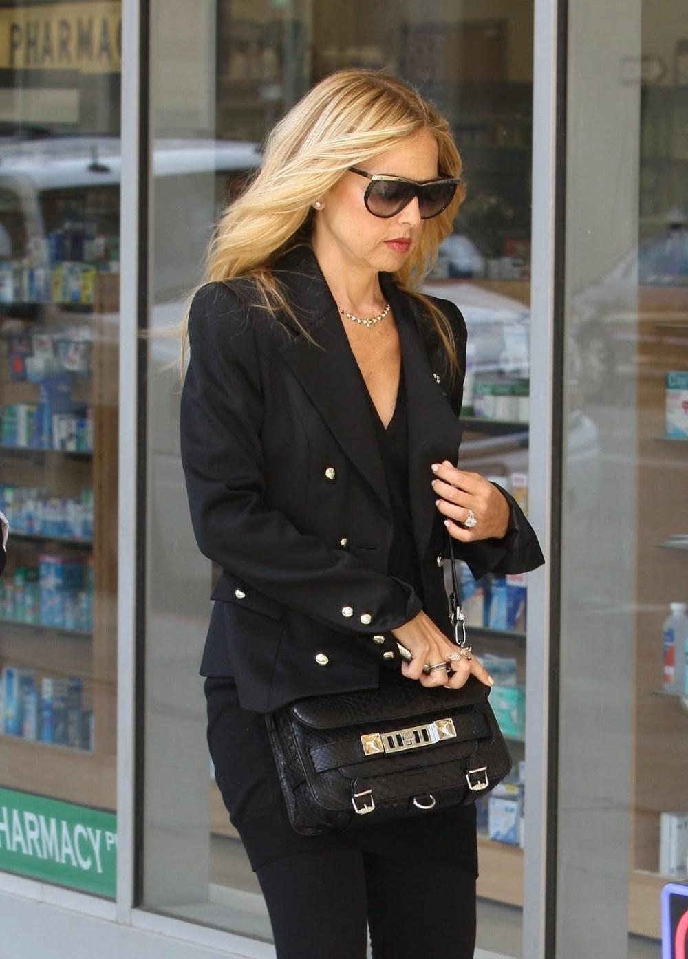 Rachel Zoe wearing a Proenza Schouler PS11