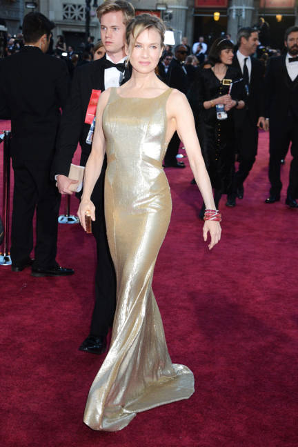 Reneé Zellweger wearing Carolina Herrera Oscars 2013