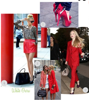 Fashion Week 2013 Style and Red