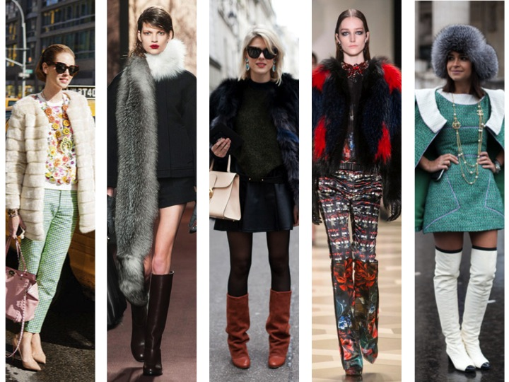 Fall 2013 Fashion Trends - Fur