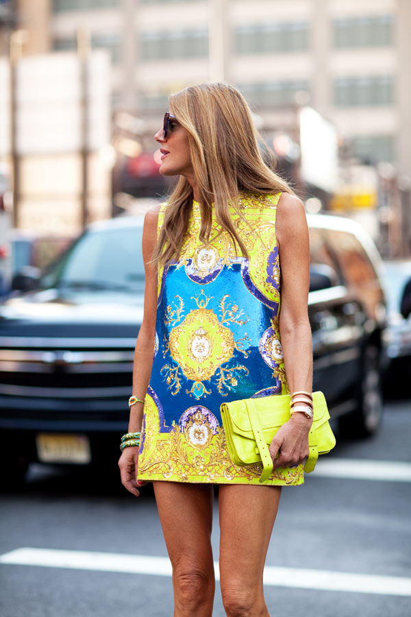 anna dello russo fashion week street style 2013