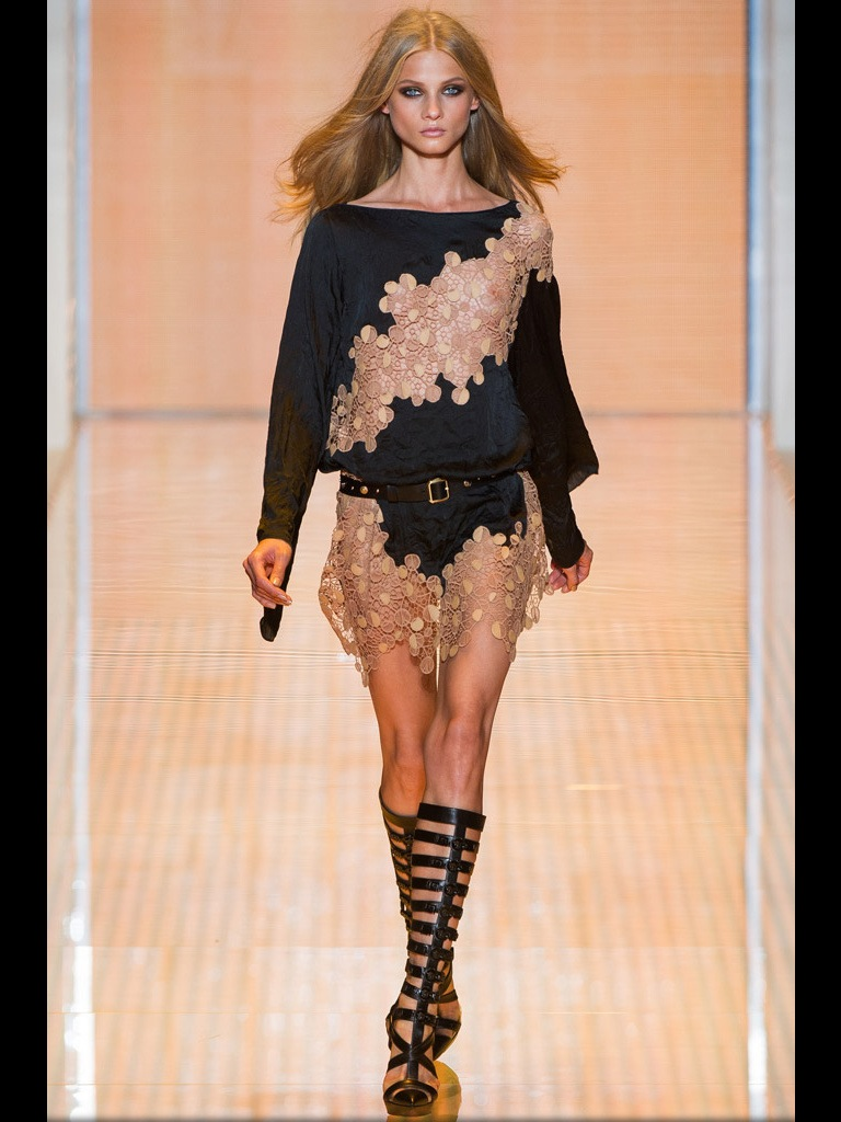 Versace spring fashion week 2013 spring trends 2013