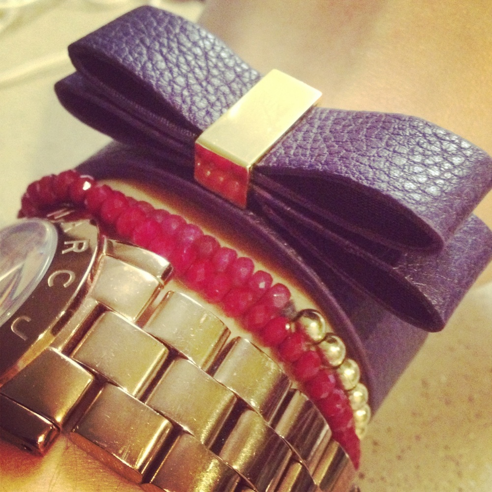 Purple BGBGeneration bracelet