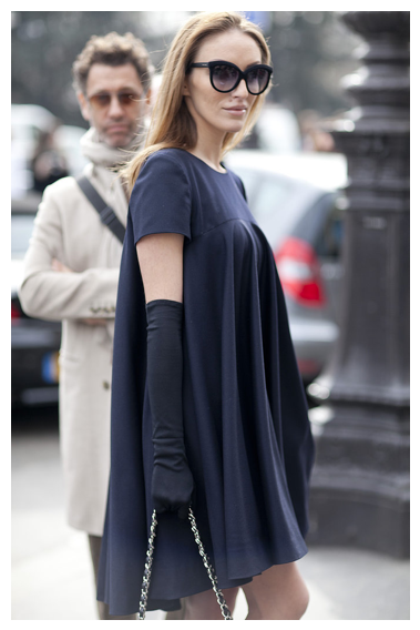 LBD spring trends 2013, fashion week street style