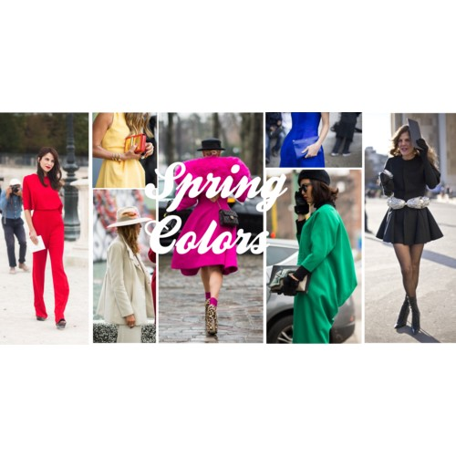spring colors trending 2013