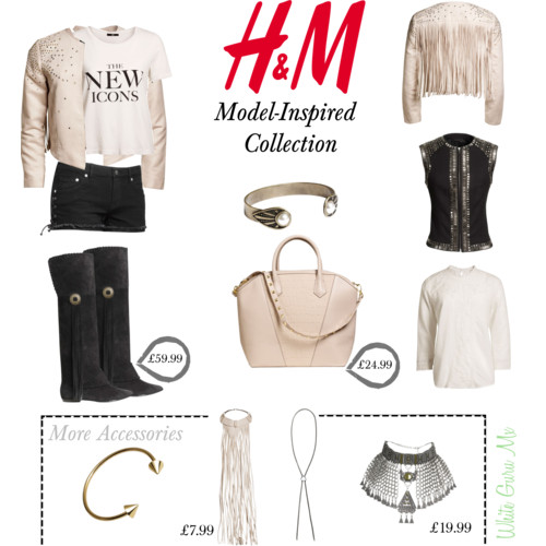 H&M model inspired new collection 2013