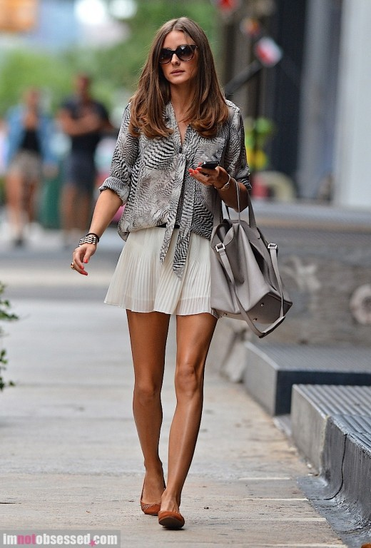 Olivia Palermo street style fashion fashion blog