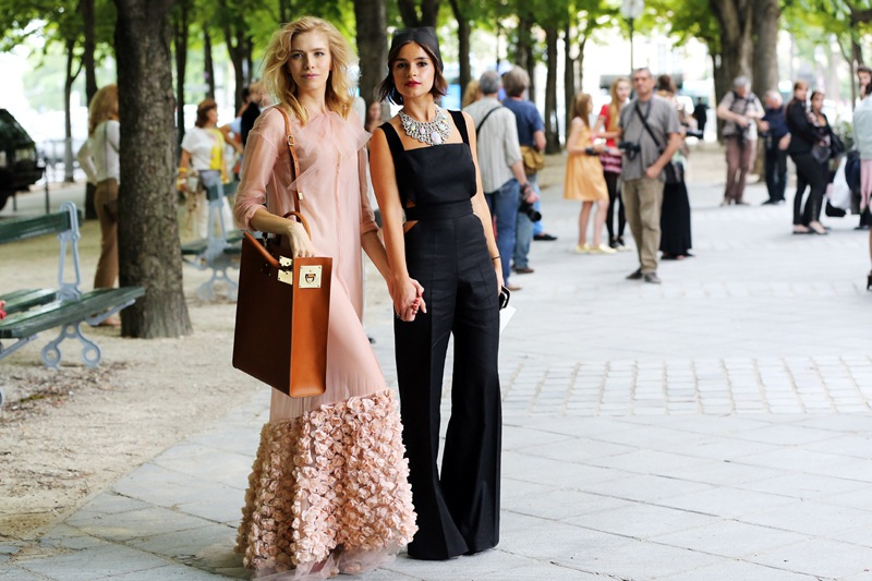 Miroslava Duma best dressed fashion week