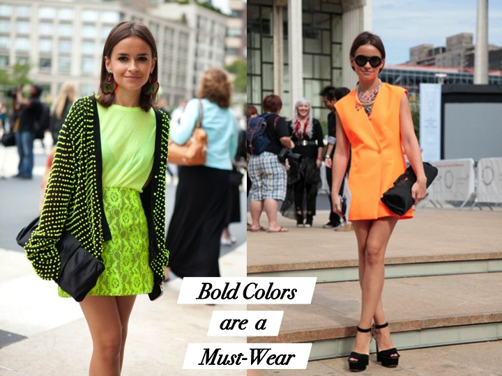 Spring and summer fashion tips with Miroslava Duma