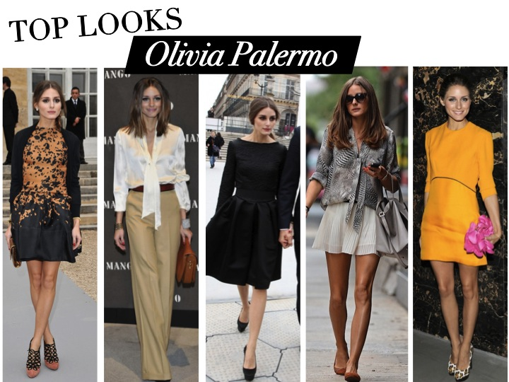Top looks style Olivia Palermo hair and makeup