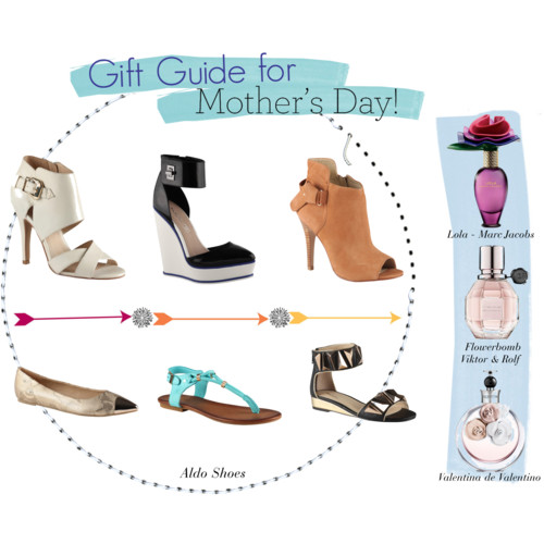 shoes and perfumes what to gift mom