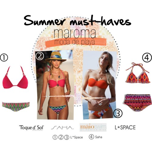 summer swimsuits l space saha maio and toque d'sol