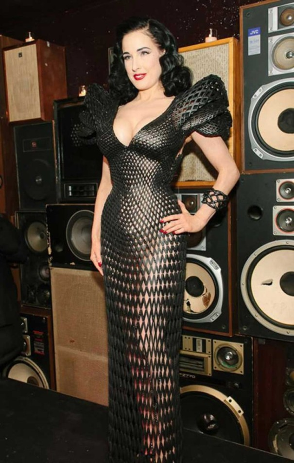 3d printed dress wearable technology