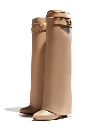 Givenchy high leg boots