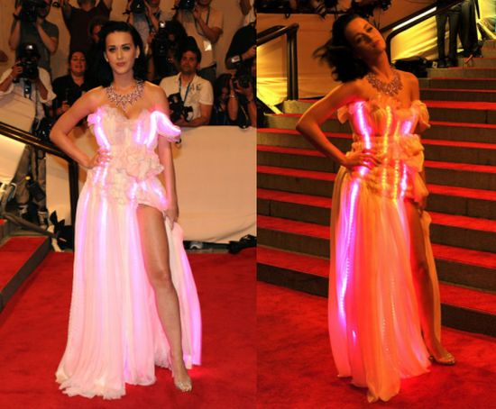 Katy Perry illuminated dress cute circuit