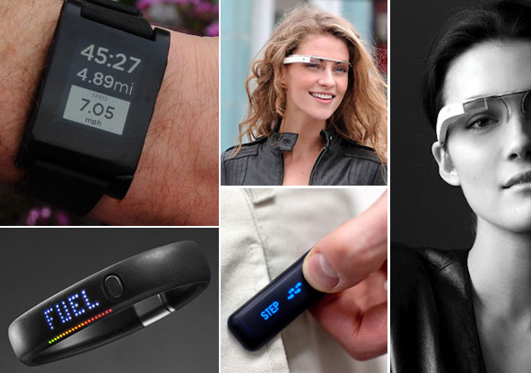 NikeFuel, Google Glass, iWatch wearable technology