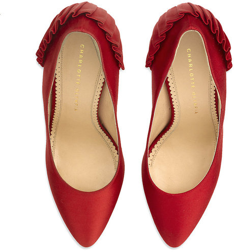 Red Paloma Platform pumps