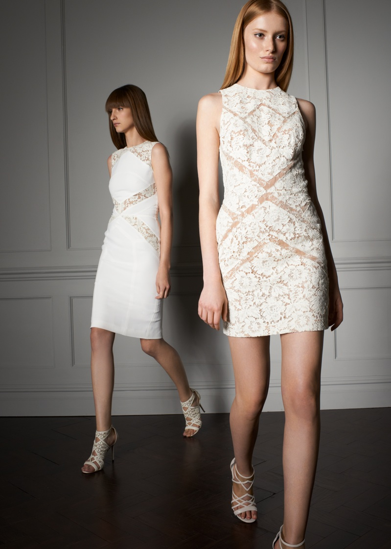 White dress Elie Saab 2014