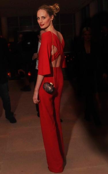 Lauren Santo Domingo street Style Valentino jumpsuit