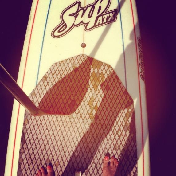 standup paddle board austin