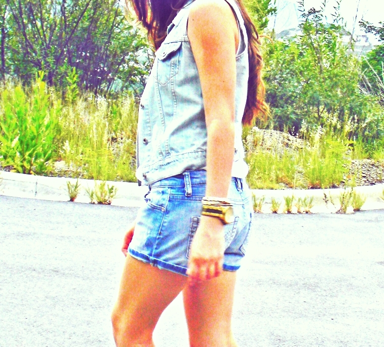 denim vest fashion blog white guru mx