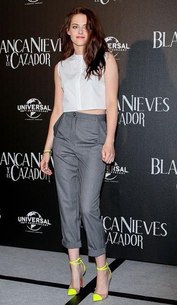 Kristen Stewart wearing style