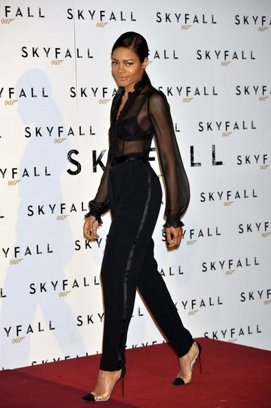 naomie harris style 007 skyfall premier