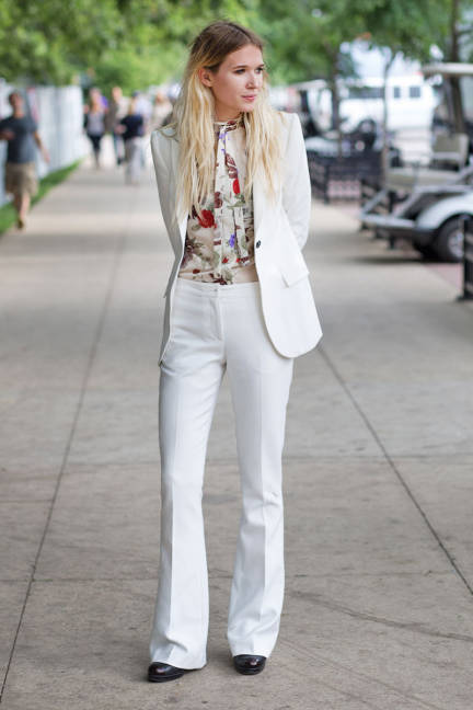 white fashion style music festival 2013