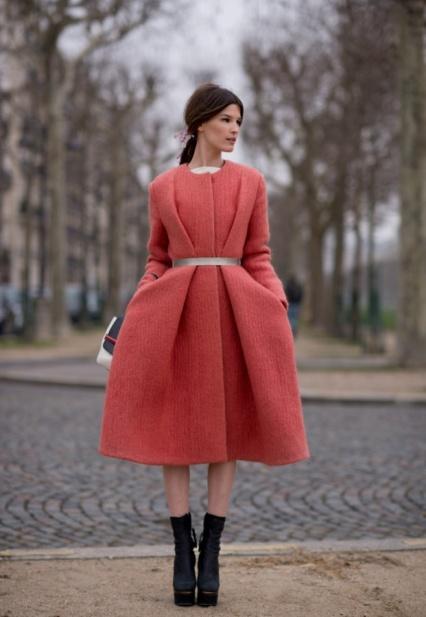 Hanneli Mustaparta calvin klein coat pink