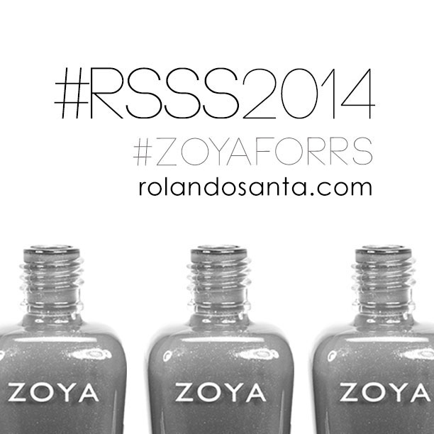 Rolando Santana Zoya nail polish collaboration 2013