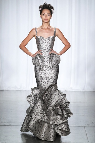 Zac Posen ss14 new york fashion week