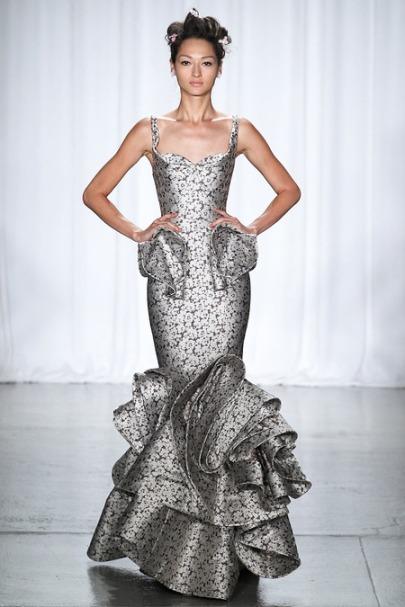 Zac Posen ss14 new york fashion week
