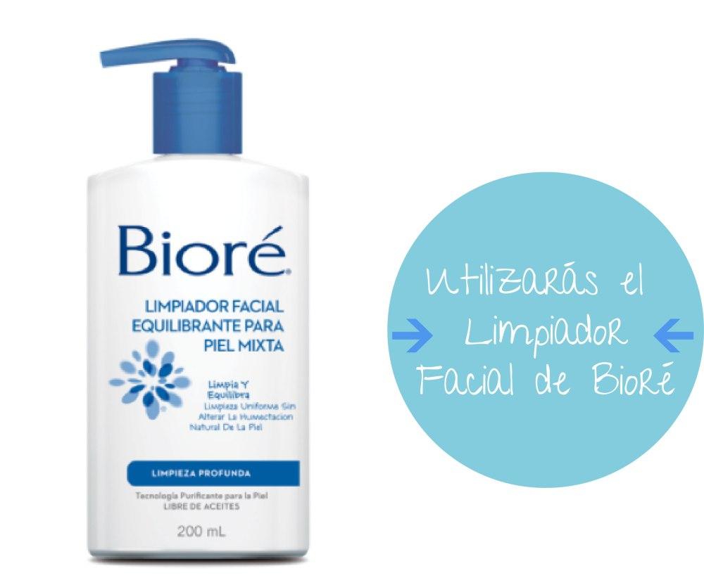 Limpiador Facial para Piel Mixta Biore
