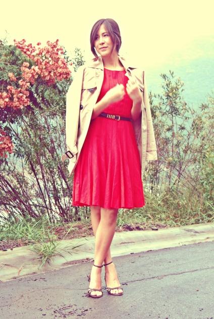 red dress winter season