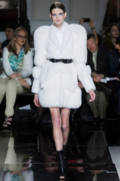 Fur coat trend Jason Wu fall winter 2013