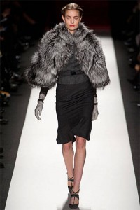 Fur coat fall 2013 Carolina Herrera