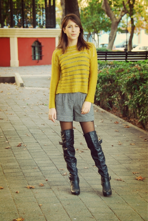 high knee long boots