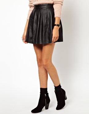 Leather skirt from ASOS