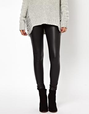 Leather leggings ASOS