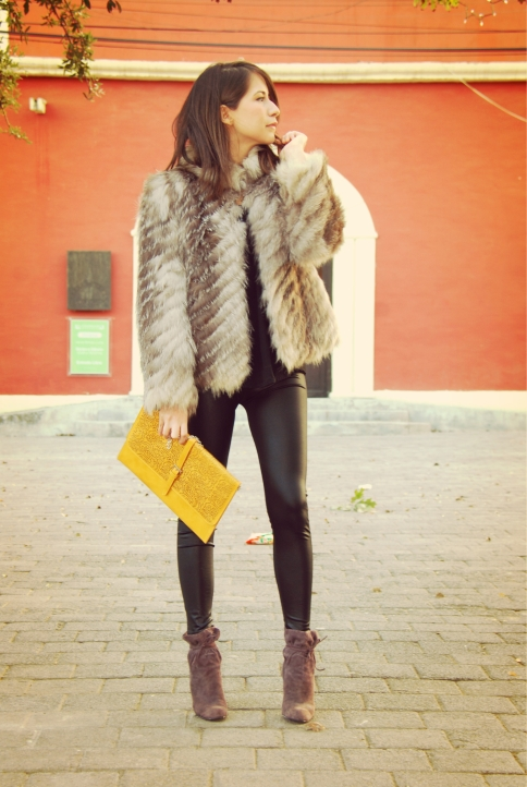 Mink coat vintage
