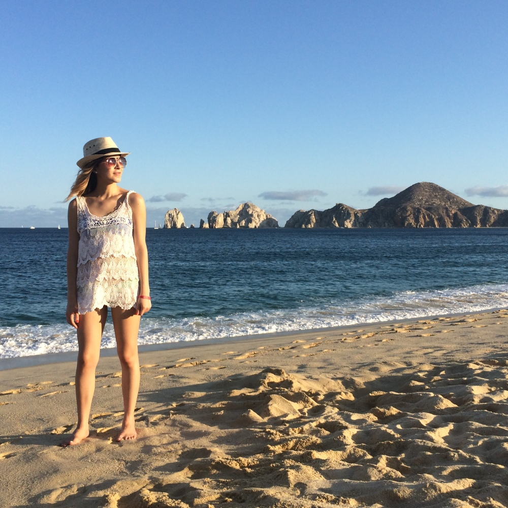 fashion blogger goes to los cabos