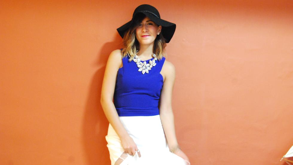 white midi-skirt fashion blogger